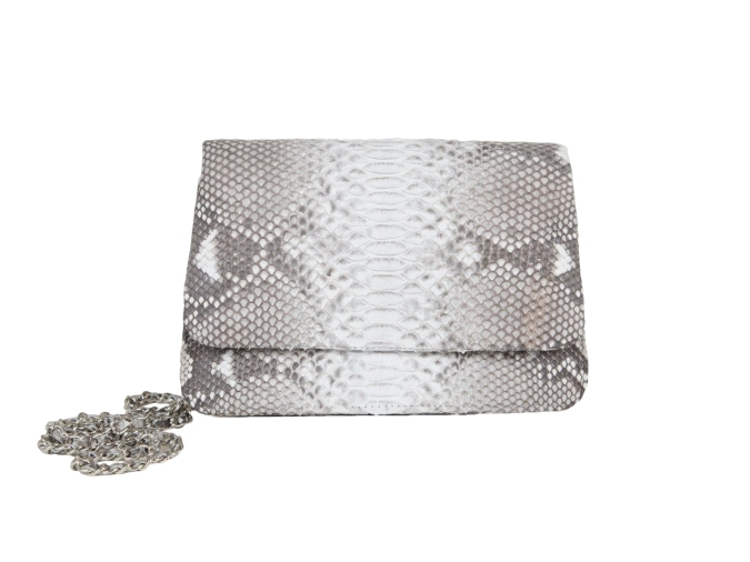 Aelia Clutch in Grey