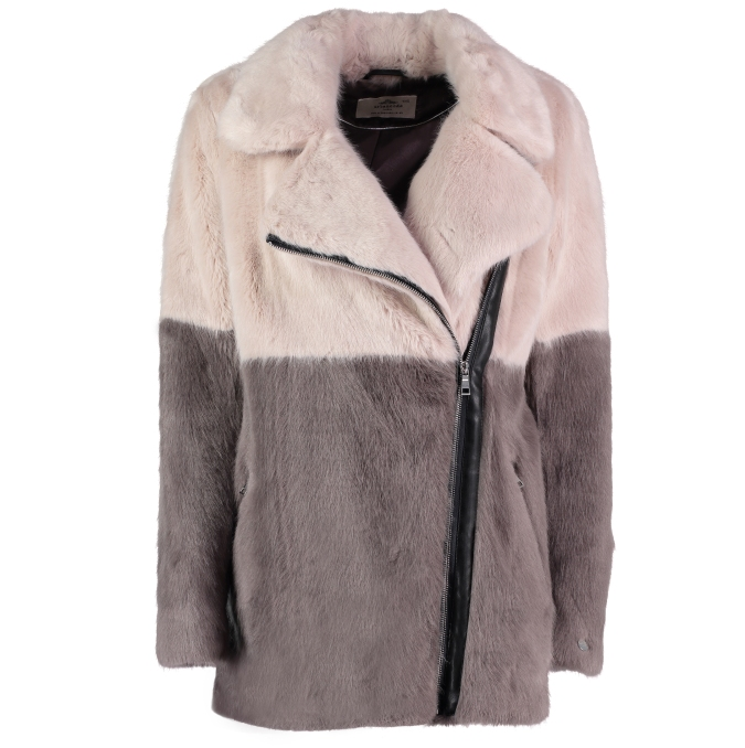 Melissa Faux Fur Coat
