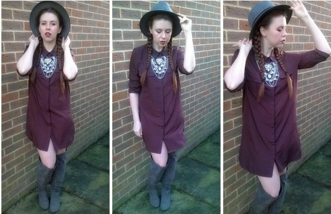 Love The Sales Vero Moda Shirt Dress - How To Style The Lampshade Trend