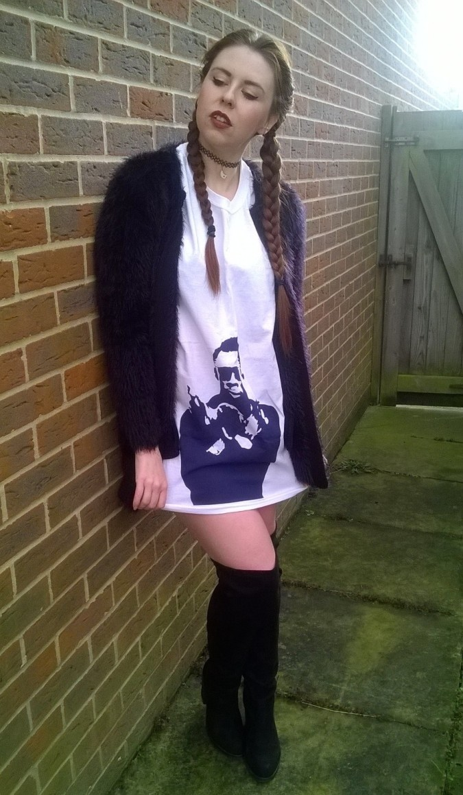 Duchess Avenue Shabba Ranks Oversized T-Shirt - How To Style The Lampshade Trend