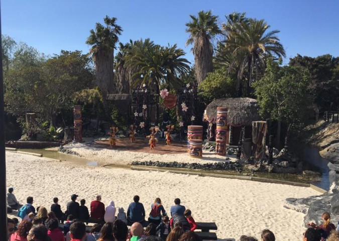 Tiki Show at Port Aventura Spain