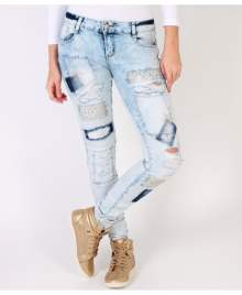 KRISP Fashion Bling Skinny Jeans