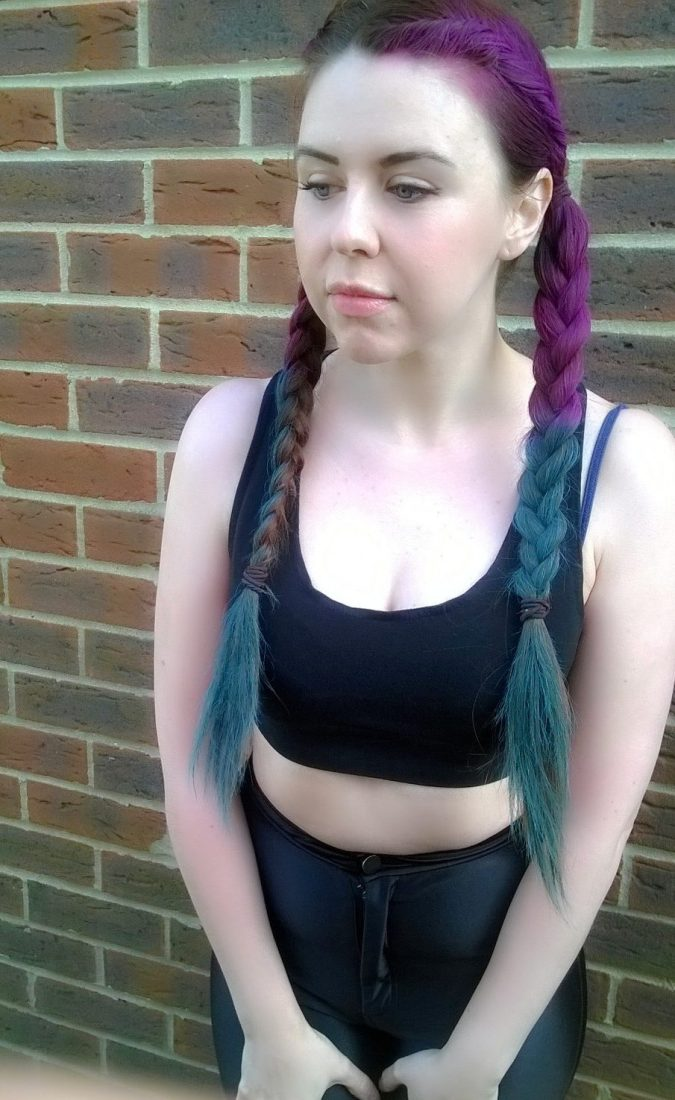 Joico Instatint in Pink and Mermaid Blue - Coachella X Kylie Jenner Rainbow Festival Braids by Fashion Du Jour LDN