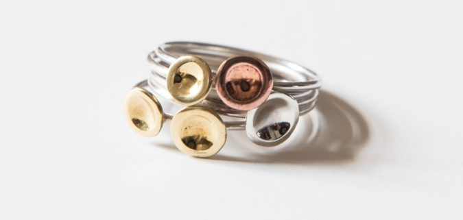 LMJewellery Sterling Silver 4 Ring Set - On Our Radar Interview by Fashion Du Jour LDN