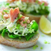 Swedish Smorgas with potato salad - Scandi-lous: How To Celebrate Midsummer Eve Swedish Style by Fashion Du Jour LDN