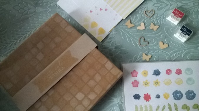 May Must-haves - Stampin' Up Stamp Kit by Fashion Du Jour LDN