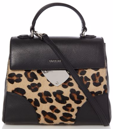 Coccinelle Maculato Leopard Skin Pony Satchel Bag - Totes Amaze: Our Big Bag Wishlist from House of Fraser by Fashion Du Jour LDN