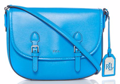 Ralph Lauren Tate Turquoise Satchel Bag - Totes Amaze: Our Big Bag Wishlist from House of Fraser by Fashion Du Jour LDN