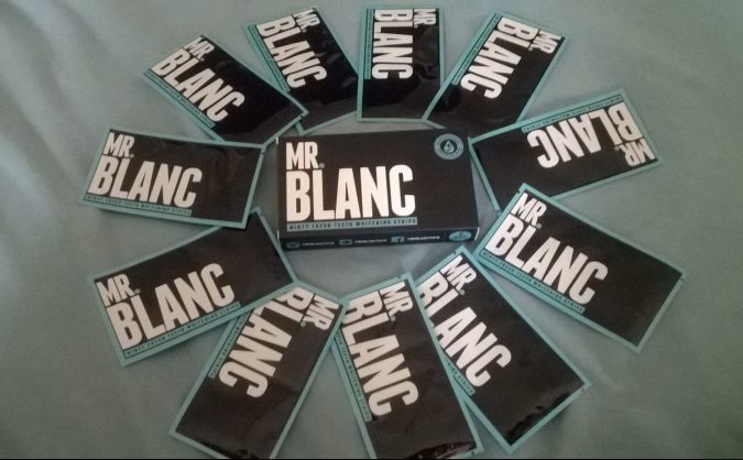 July Must-Haves: Mr Blanc Teeth Whitening Strips by Fashion Du Jour LDN