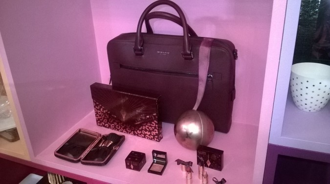 Charlotte Tilbury Make-set and Michael Kors Bag - It's Coming: House of Fraser's Christmas in July Event 2016 by Fashion Du Jour LDN