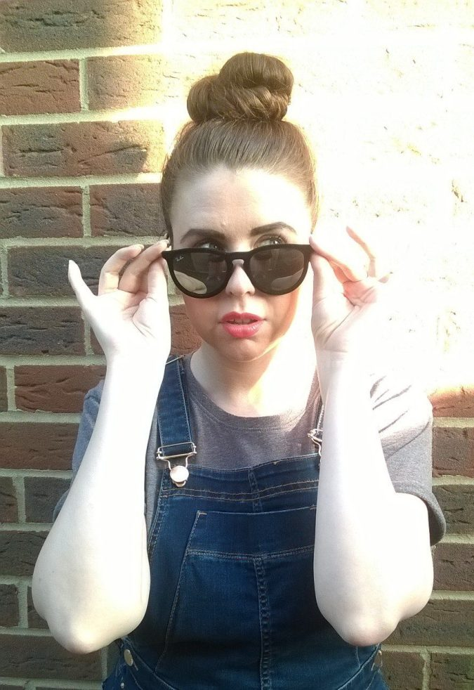 Pinafore Perfection: OOTD Ray Ban Erika Sunglasses from Pretavoir by Fashion Du Jour LDN