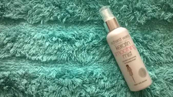 Pinafore Perfection: OOTD Richard Ward The Chelsea Collection Keratin Smoothing Mist Review by Fashion Du Jour LDN