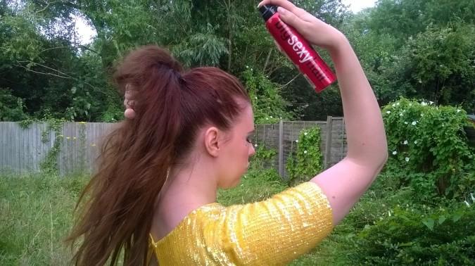 Mer-mazing! How To Create Festival Mermaid Hair Easily - Sexy Hair's Big Push Up Thickening Finishing Spray by Fashion Du Jour LDN