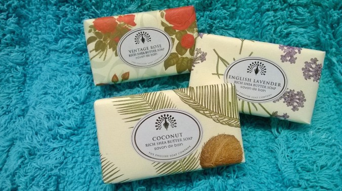 Awesome October Favourites - The English Soap Company Soaps by Fashion Du Jour LDN