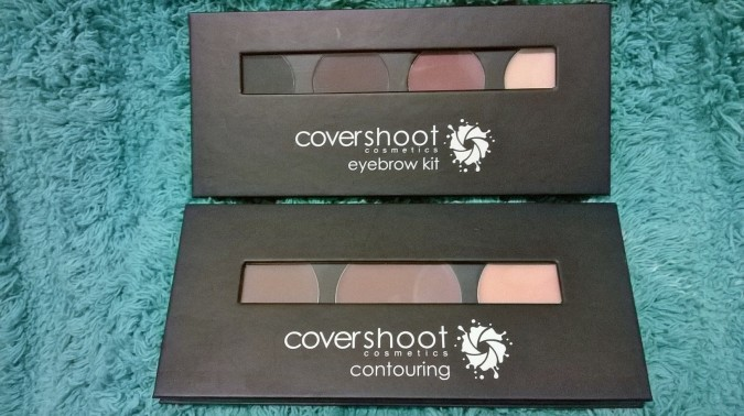 Awesome October Favourites - Covershoot Cosmetics Brow Kit by Fashion Du Jour LDN