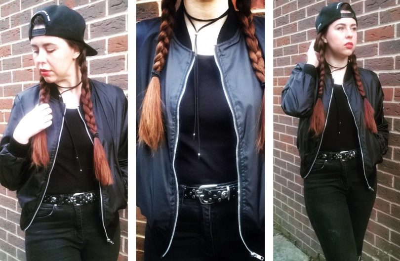 OOTD: Be Da Bomb In A Bomber Jacket by Fashion Du Jour LDN