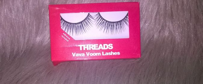 Threads Beauty Vava Voom Lashes - Make-Up Shake-Up: Grown-Up Gothic by Fashion Du Jour LDN
