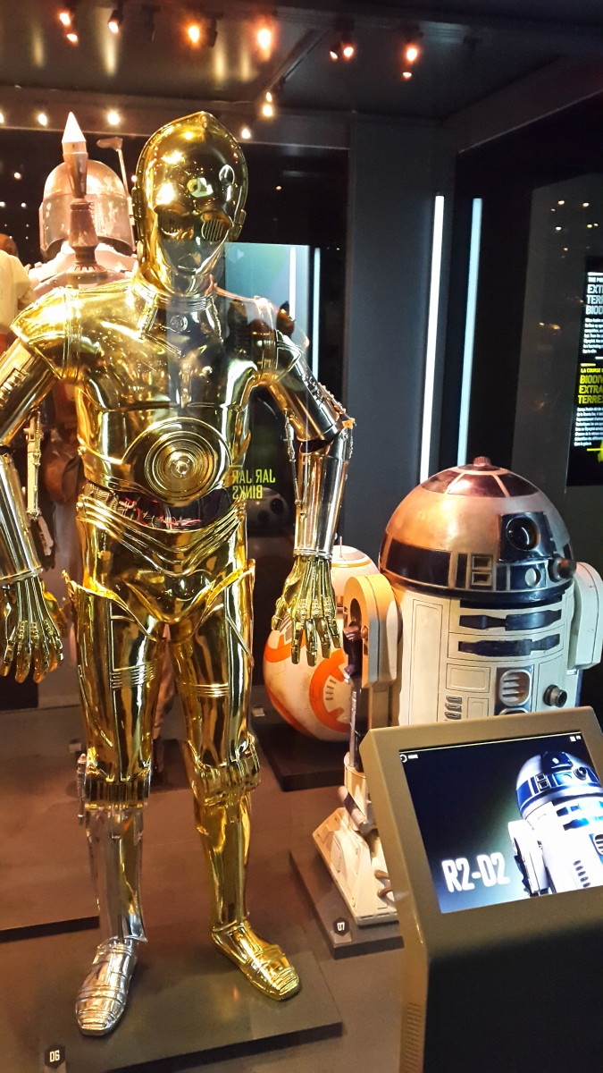 Birthday Bonanza: Star Wars Identities & High Jinks by Fashion Du Jour LDN - C3PO R2D2