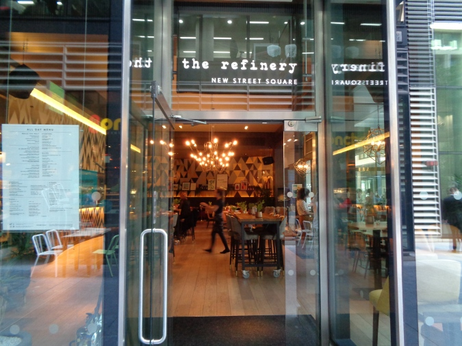 Urban Oasis: The Refinery - New Street Square by Fashion Du Jour LDN
