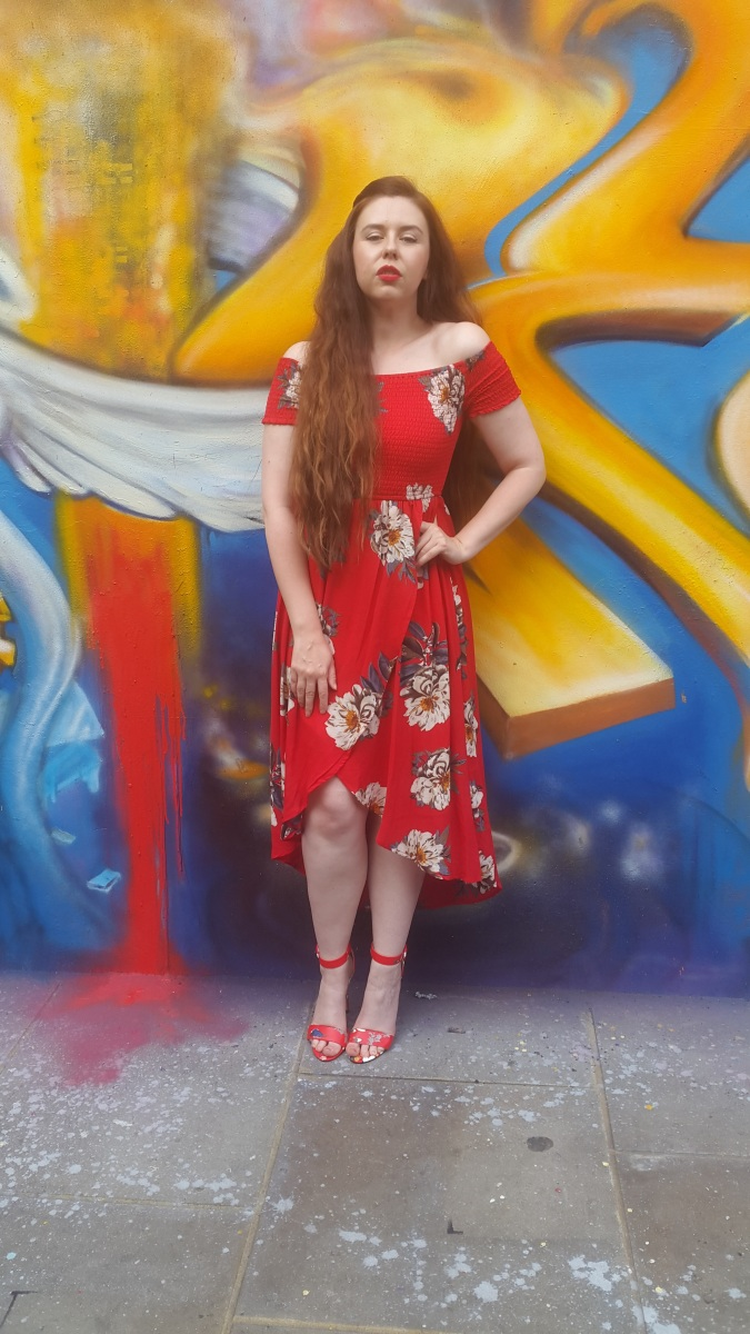 Lady in Red: Boyfriend Style Challenge With QUIZ Clothing