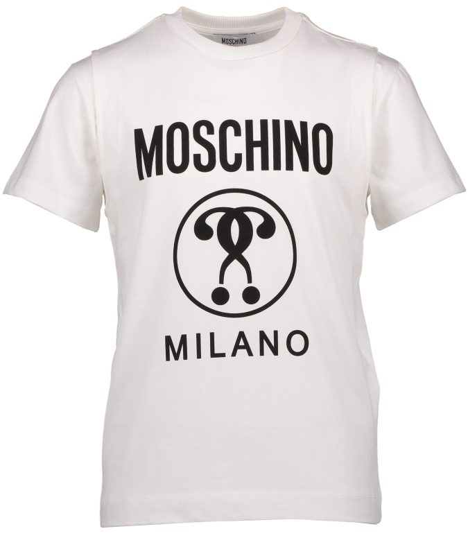 Boys Moschino T Shirt - ODs Designer Clothing