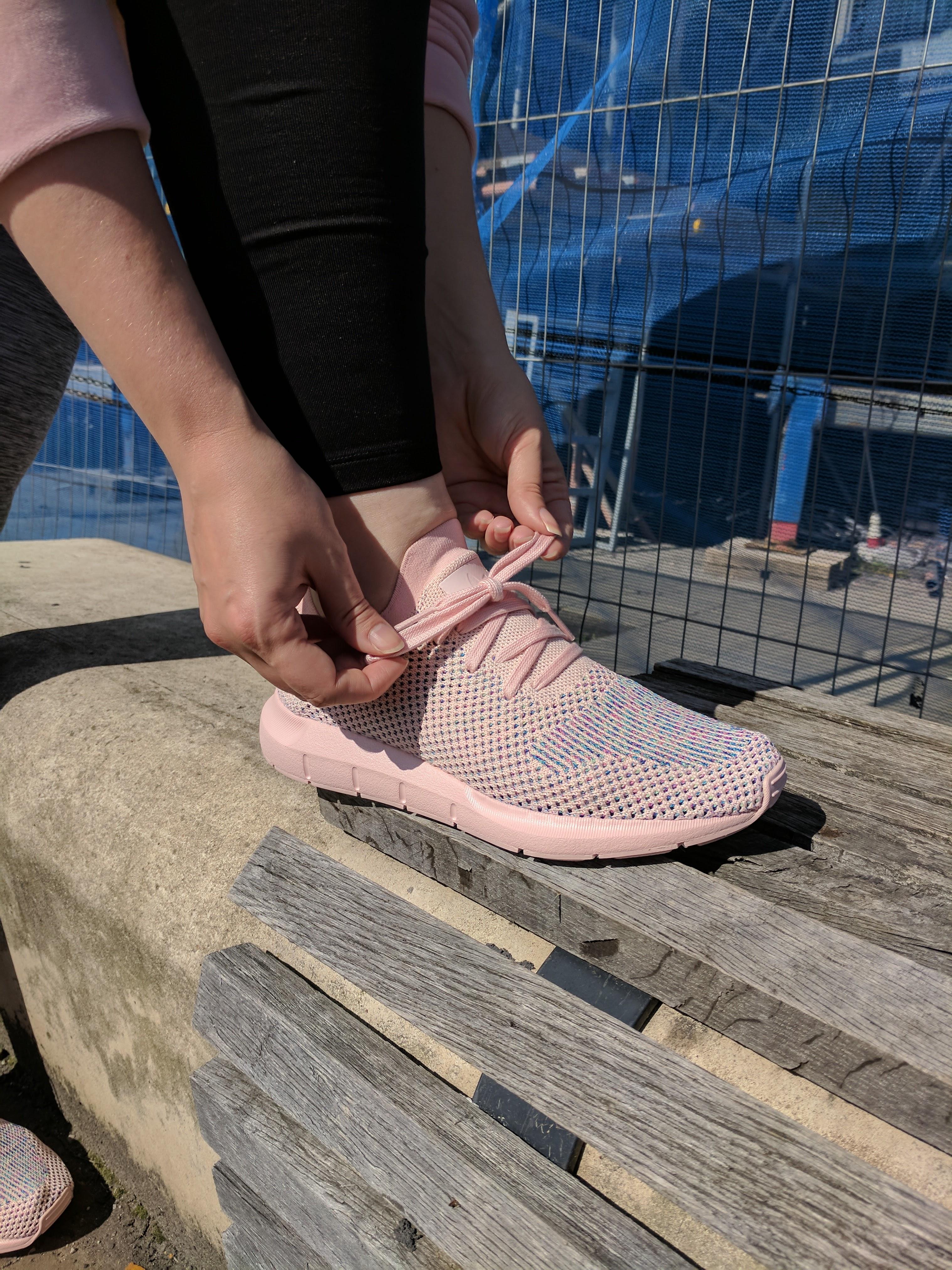 150f39347 Step Up!  Adidas Originals Swift Run Primeknit Trainers From Tessuti by  Fashion Du Jour