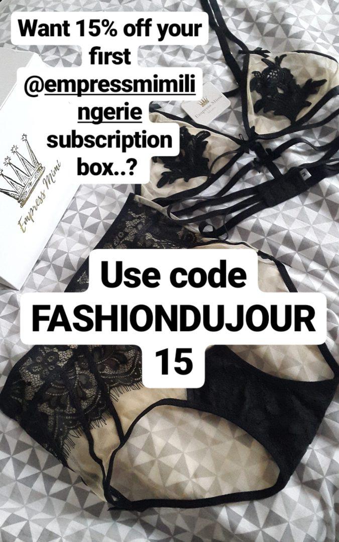 Self Love: Empress Mimi Lingerie Subscription Box by Fashion Du Jour LDN