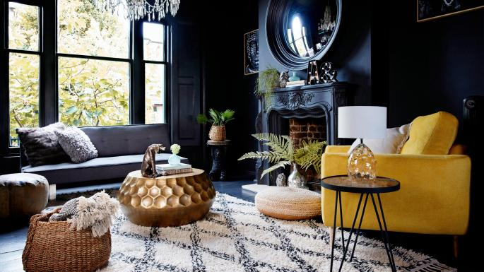 Dramatic paint colours - Interior Goals - 2018 Home Design Trends by Fashion Du Jour LDN