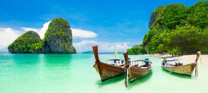 Come Away With Me: 2018 Travel Bucket List by Fashion Du Jour LDN Thailand beach and boats