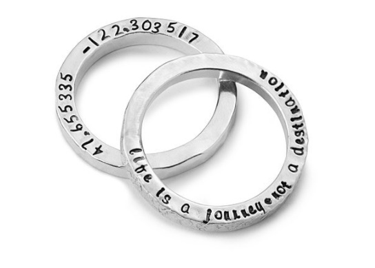 Not Your Average Valentines Gifts: Uncommon Goods Wishlist - Uncommon Goods Latitude Longitude Rings