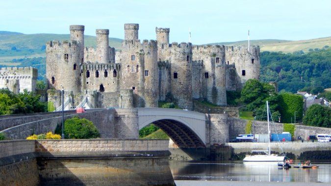 Happy #VanLife Happy Van Wife Top Places To Escape In The UK - by Fashion Du Jour LDN. Conwy Castle