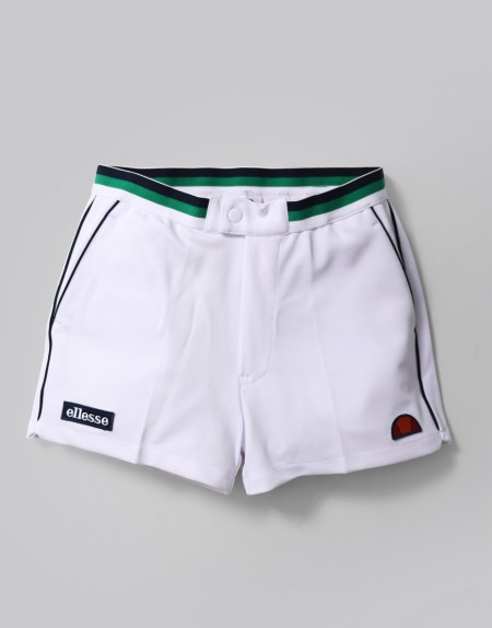 Old School, New Kool: Ellesse Menswear Wishlist by Fashion Du Jour LDN. Ellesse Knapp Twill Shorts White
