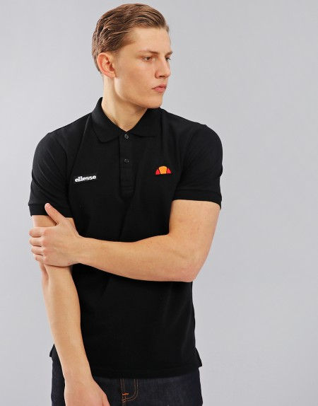 Old School, New Kool: Ellesse Menswear Wishlist by Fashion Du Jour LDN. Ellesse Montura Polo Shirt Black Anthracite