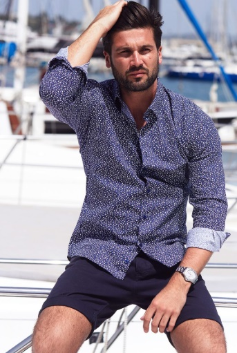 Fix Up, Look Sharp!: Boyfriend Style Picks With QUIZMAN by Fashion Du Jour LDN. QUIZMAN Navy Flower Print Long Sleeve Shirt