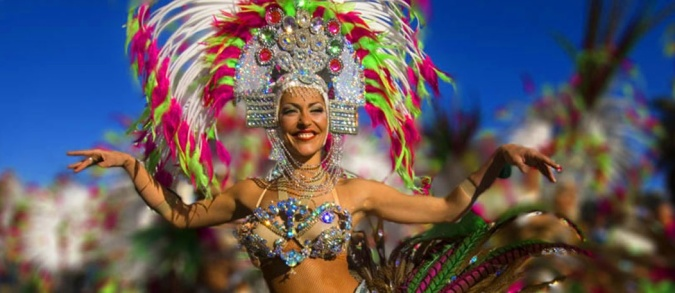Feeling Festive - Our Top Festival Getaways That Won't Break The Bank - Las Palmas de Gran Canaria carnival by Fashion Du Jour LDN