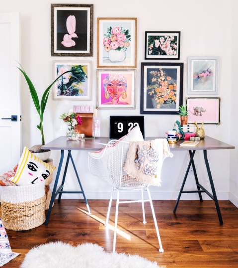 Perfectly Productive - Top Tips To Create Your Ideal Home Office by Fashion Du Jour LDN - Kerry Johnson