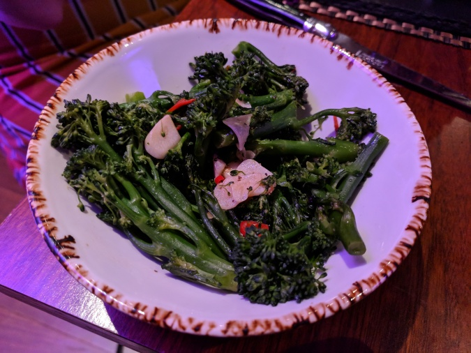 Nice To MEAT You!: The Grill In The Park, Worsley by Fashion Du Jour LDN. Grill in the Park Worsley Restaurant. Tenderstem broccoli with chilli and garlic