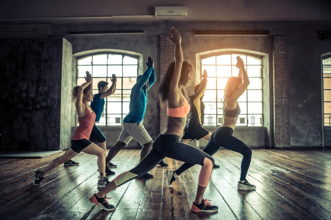 Nailed it: 5 Ways to Smash Your New Year Resolutions by Fashion Du Jour LDN. new-year-resolutions-gym-class
