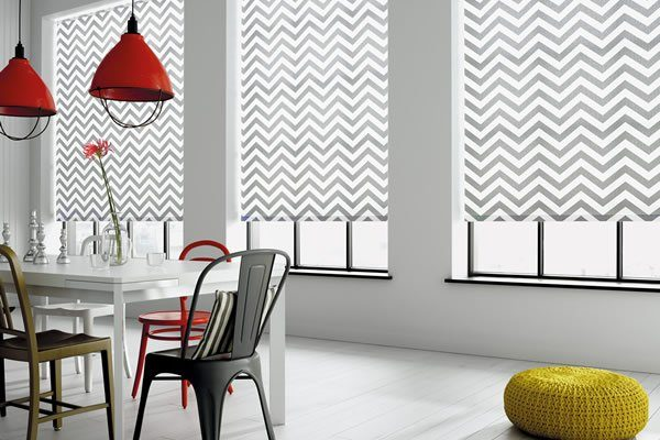 Light and Shade - How To Make Impact In Your Home With Windows And Blinds by Fashion Du Jour LDN. Roller blinds