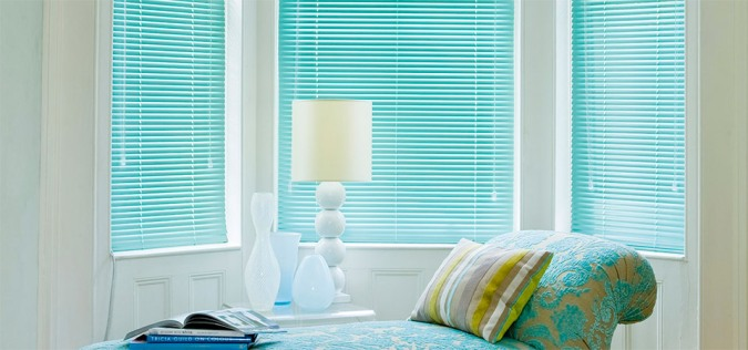 Light and Shade - How To Make Impact In Your Home With Windows And Blinds by Fashion Du Jour LDN. Coloured Venetian Blinds