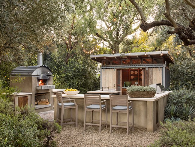 Sparking Joy How To Bring Hygge To Your Garden by Fashion Du Jour LDN rustic-design-outdoor-kitchen-scott-shrader_13075