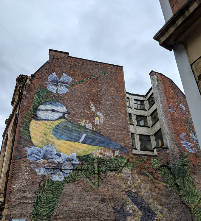 Marvellous Manchester: A Local's Guide To Hidden Gems by Fashion Du Jour LDN. Northern Quarter, Manchester. Street Art