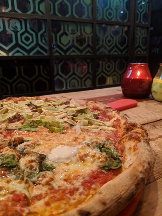 Marvellous Manchester: A Local's Guide To Hidden Gems by Fashion Du Jour LDN. Crazy Pedros Part Time Pizza Par.lour, Manchester. Pizza