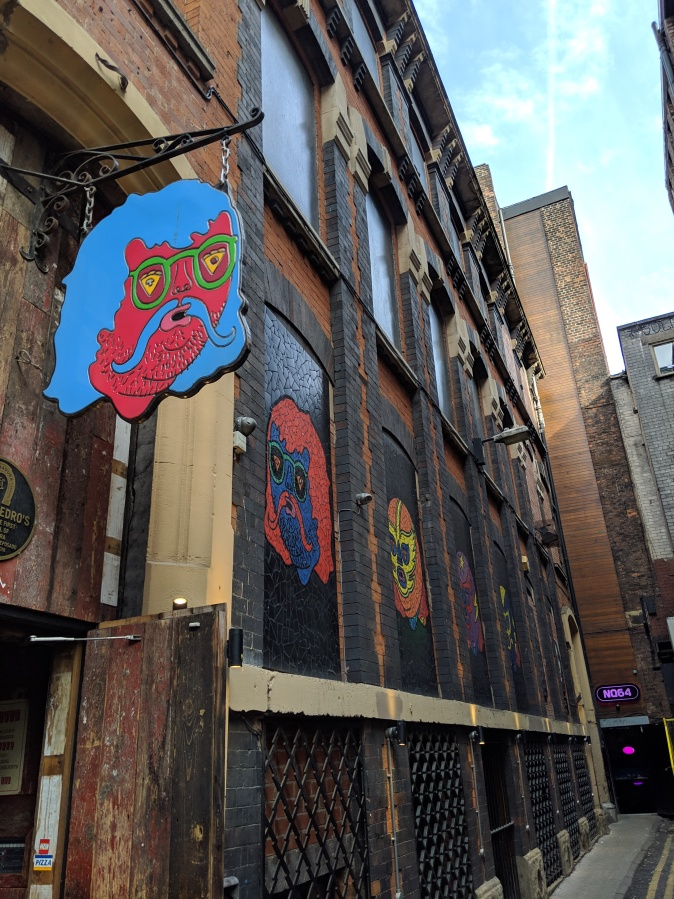 Marvellous Manchester: A Local's Guide To Hidden Gems by Fashion Du Jour LDN. Crazy Pedros Part Time Pizza Par.lour, Manchester exterior
