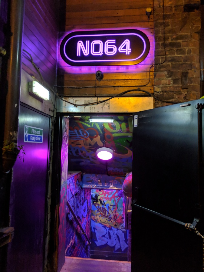 Marvellous Manchester: A Local's Guide To Hidden Gems by Fashion Du Jour LDN. NQ64 Arcade Bar, Manchester