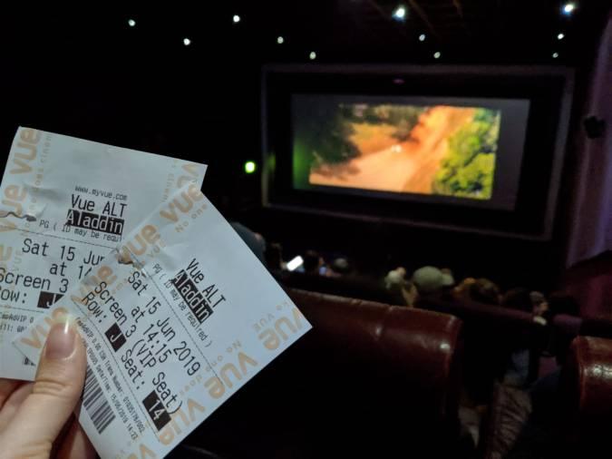 A Perfect Vue! Our Trip To Vue Cinema, Altrincham by Fashion Du Jour LDN. Cinema screen