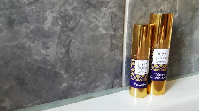 Purple Reign: Fitzjohn Skincare by Fashion Du Jour LDN. Fitzjohn Skincare Balancing Facial Moisturiser and Rejuvenating Oil