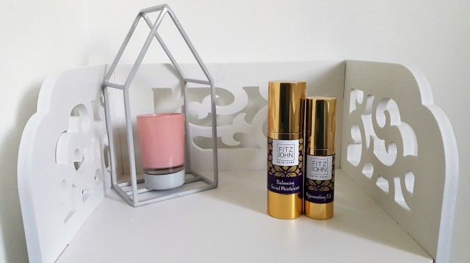 Purple Reign: Fitzjohn Skincare by Fashion Du Jour LDN. Fitzjohn Skincare Balancing Facial Moisturiser and Rejuvenating Oil